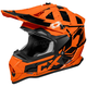 Flo Orange Mode MX Stance Helmet