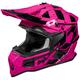 Pink Mode MX Stance Helmet