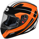 Flo Orange Mugello Maker Helmet