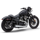 Chrome/Black Tip El Diablo 2-1 Exhaust - 6473