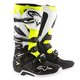 Black/White/Yellow Tech 7 Enduro Boots