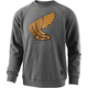 Heather Charcoal Honda Wing Crew Pullover