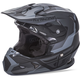 Matte Black/Gray Toxin Helmet