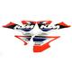 KTM FX EVO 13 Series Graphics Kit - 19-01520