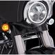 Chrome Fang Front Turn signal Light Insert - 45400
