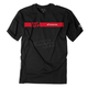 Black Honda Ride Red Bar T-Shirt