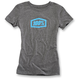 Womens Heather Gray Essential T-Shirt