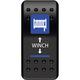 Dash Mount Winch Rocker Switch - 0616-0331