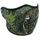 Forest Camo Half Face Mask - WNFM238H