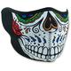 Muerte Skull Half Face Mask - WNFM413H