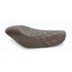 Brown Renegade Lattice-Stitch Solo Seat - 807-03-002BLS
