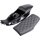 Black Eliminator Tail Section and Lattice Stitch Seat Kit  - Z4281