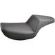 Black Lattice-Stitch Step-Up Seat - 882-09-173