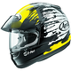 Yellow/Black/White Signet-Q Pro-Tour Splash Helmet