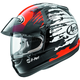 Red/Black/White Signet-Q Pro-Tour Splash Helmet