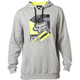 Heather Gray Geo Cube Pullover Hoody