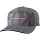 Heather Black FlexFit Hat