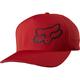 Flame Red Grav FlexFit Hat