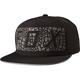 Black Grav Snapback Hat - 19201-001-OS