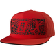 Flame Red Grav Snapback Hat - 19201-122-OS