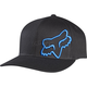 Black/Blue Flex 45 FlexFit Hat