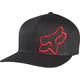 Black/Red Flex 45 FlexFit Hat - 58379-017-L/XL