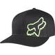 Black/Green Flex 45 FlexFit Hat