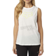 Women's White Enduro Muscle Tank