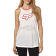 Women's White Endorser Muscle Tank Top