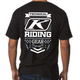 Black Burst Technical Riding Gear T-Shirt