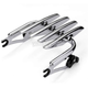 Chrome Detachable Touring Stealth Luggage Rack - HW157109