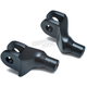 Satin Black Front Tapered Peg Adapters - 8875