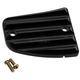 Black Finned Front Master Cylinder Cover - 30-380-1