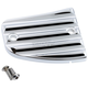 Chrome Finned Front Master Cylinder Cover - 30-380-3