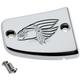 Chrome Warrior Front Master Cylinder Cover - 30-382-3