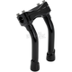 Black 8 in. Murdock Pullback Risers - MP-008-HD-BK