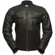Turbine Perforated Leather Jacket