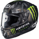 Semi-Flat Black RPHA-11 Pro Monster Energy Military Camo MC-4 Helmet