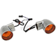 Chrome Bullet-Style Rear Turn Signals - 2020-1378