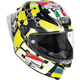 Black/Yellow Pista GP R Iannone Helmet