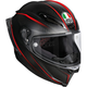 Black/Red Pista GP R GP-9 Helmet