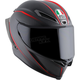 Black/Red Pista GP R GP-10 Italy Helmet