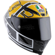 Yellow/Black Corsa R Goodwood Helmet