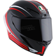 Black/Red Corsa-7 R Helmet