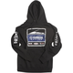 Black Yamaha Racing Team Pullover Hoody