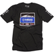 Black Yamaha Racing Team T-Shirt