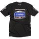 Black Yamaha Racing Team T-Shirt