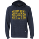 Navy Friday Night Pullover Hoody