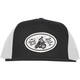 Black/White Hand Built Snap-Back Hat - 20-86804
