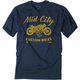 Navy Mid City T-Shirt
